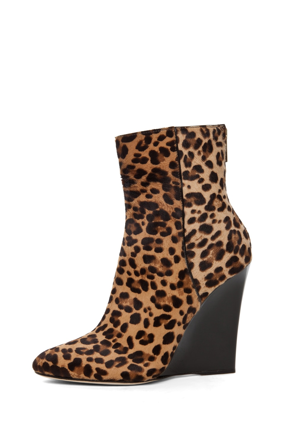 Image 1 of Jimmy Choo Mercury Wedge Bootie in Leopard Print