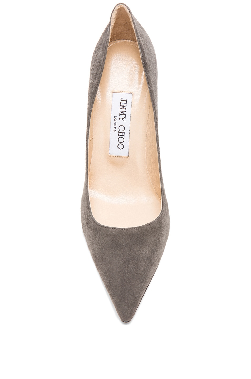 Image 4 of Jimmy Choo Abel Pointed Suede Pumps in Twilight