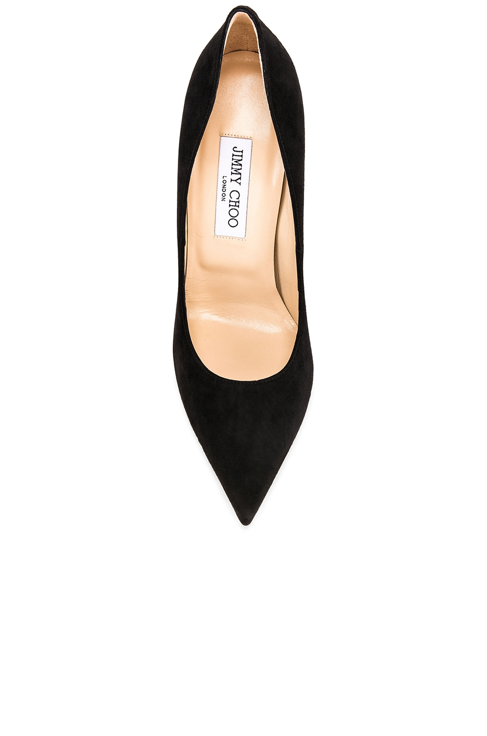 Image 4 of Jimmy Choo Anouk 120 Suede Pumps in Black