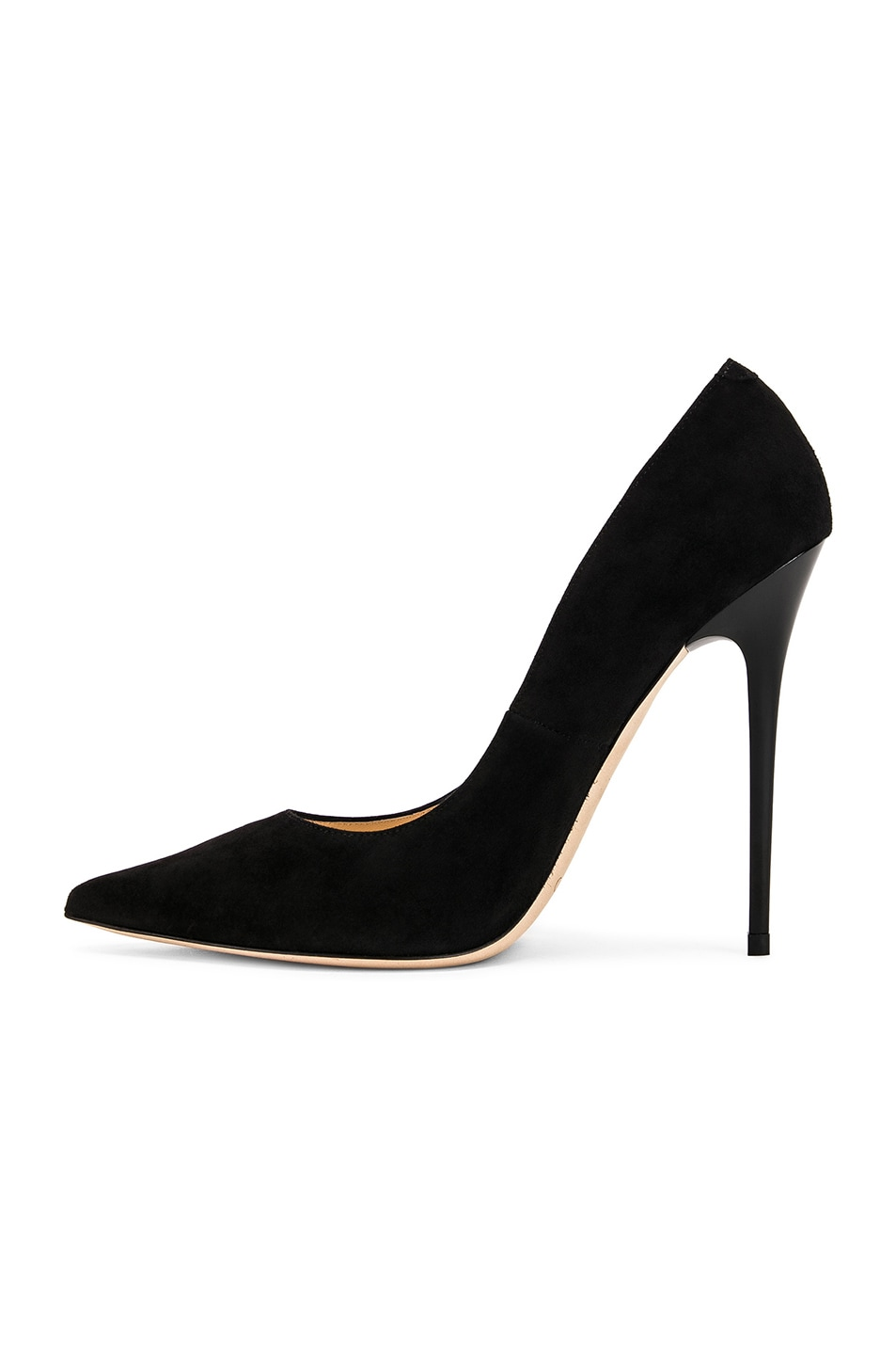 Image 5 of Jimmy Choo Anouk 120 Suede Pumps in Black