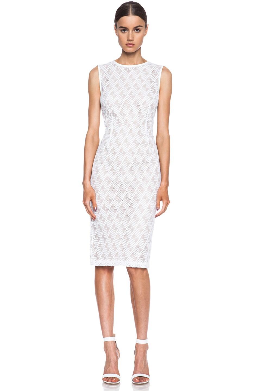 Image 1 of Jenni Kayne Cotton-Blend Dress in White