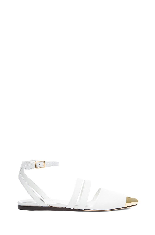 Image 1 of Jenni Kayne Leather Flats in White