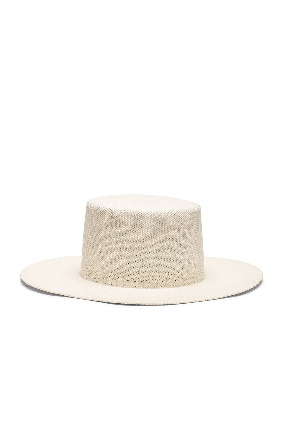 ecdddcaf91a Image 1 of Janessa Leone Camie Hat in White