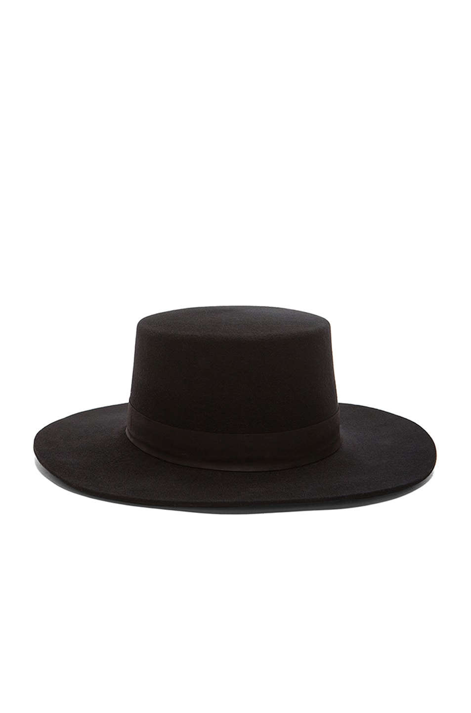 Image 1 of Janessa Leone Gabrielle Hat in Black