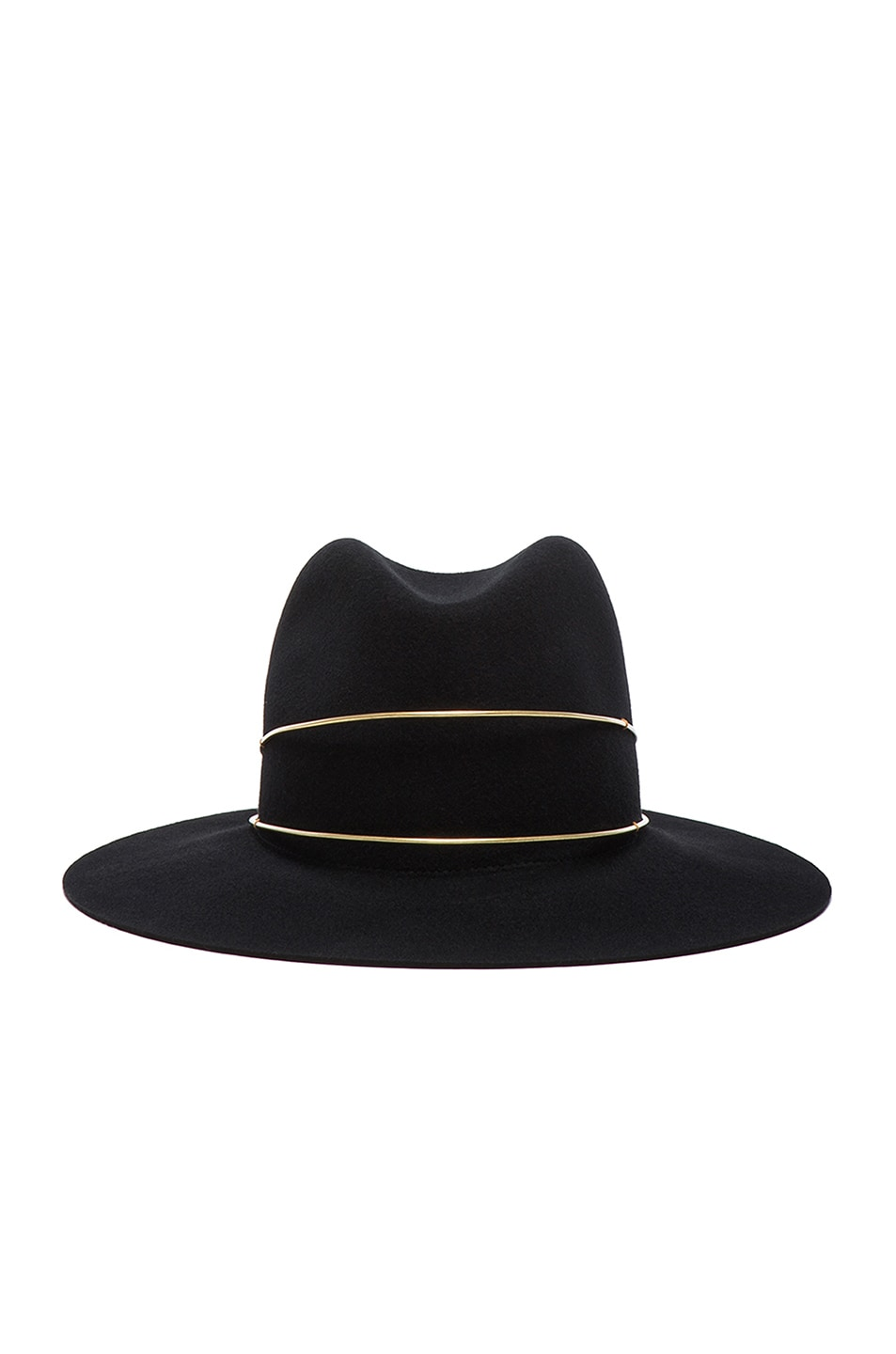 Image 1 of Janessa Leone Exclusive George Hat in Black