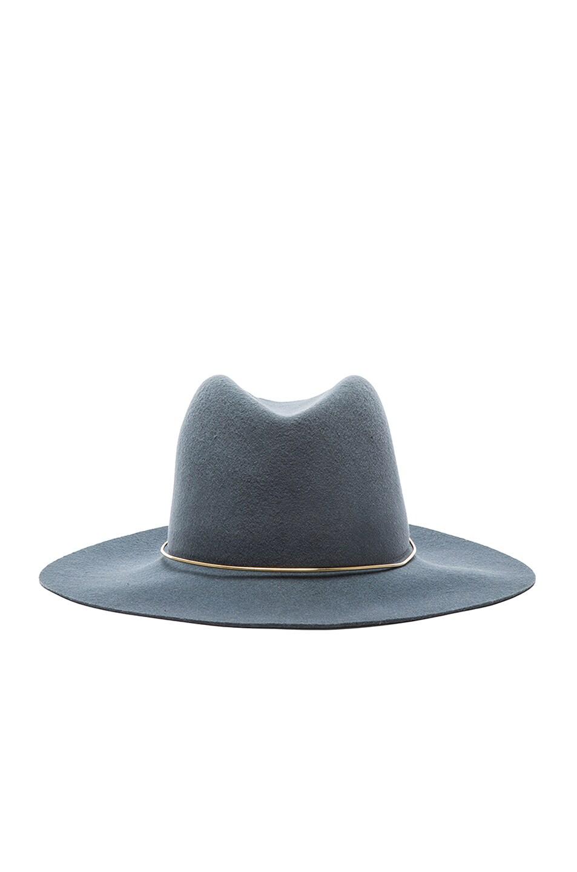 Image 1 of Janessa Leone Lassen Hat in Bluestone