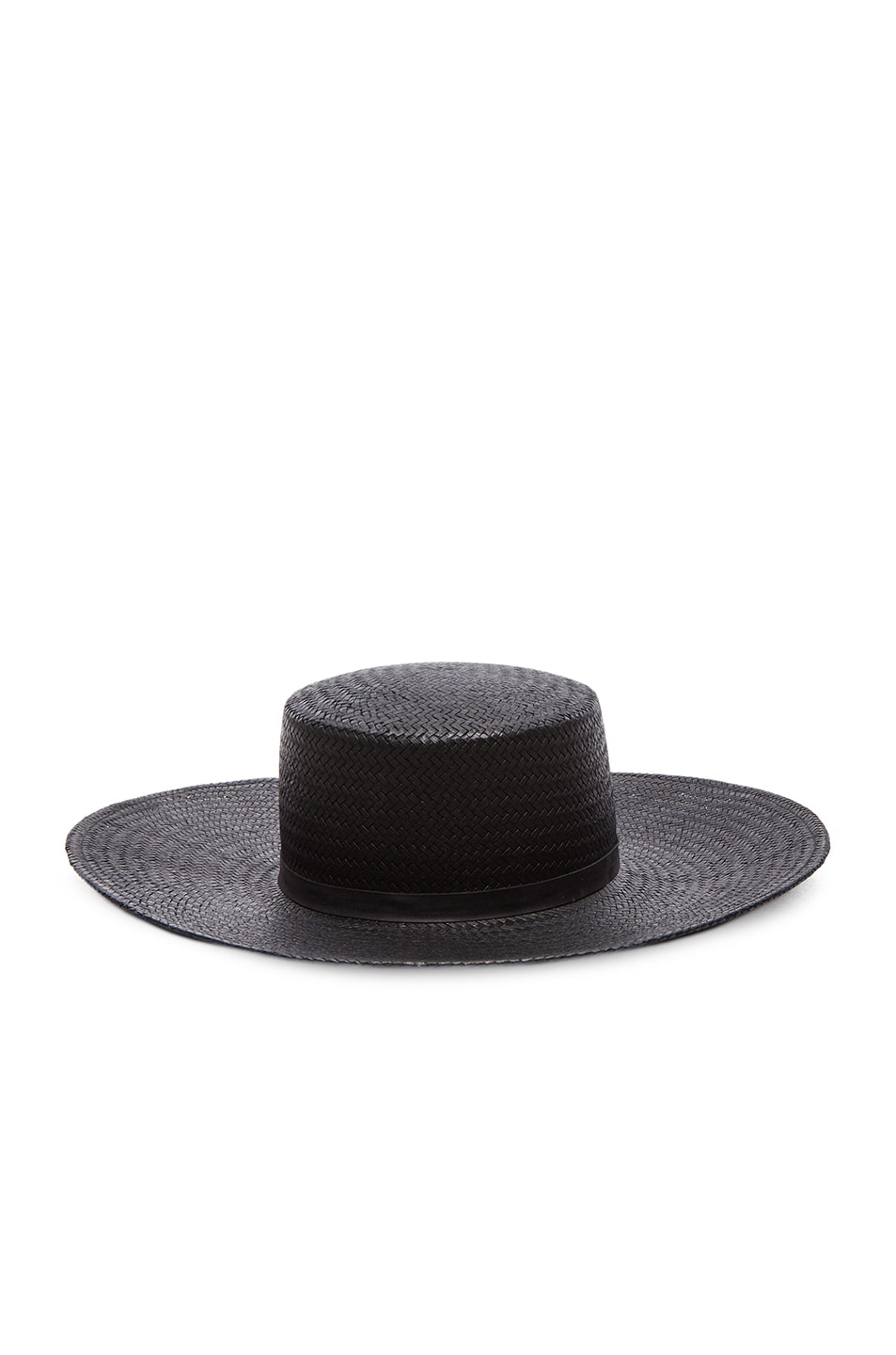 Image 1 of Janessa Leone Jalk Hat in Black