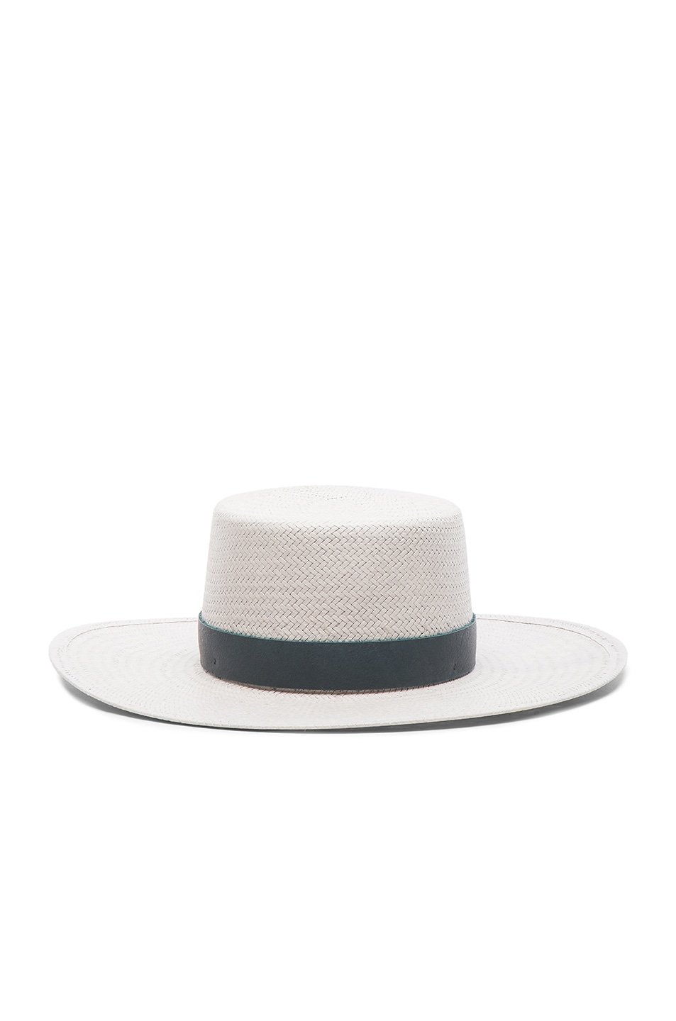 Image 1 of Janessa Leone Exclusive Wright Hat in Mineral Grey