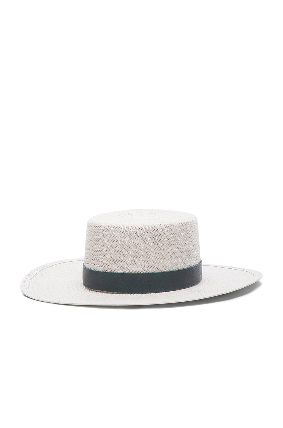 Image 2 of Janessa Leone Exclusive Wright Hat in Mineral Grey