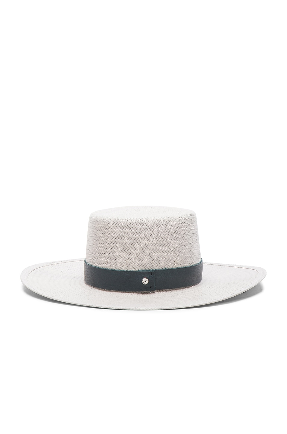 Image 4 of Janessa Leone Exclusive Wright Hat in Mineral Grey