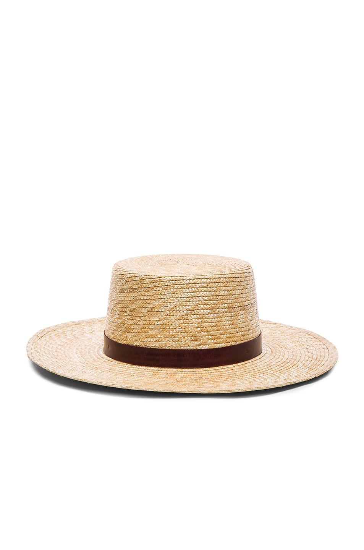 Image 1 of Janessa Leone Mari Bolero Hat in Natural