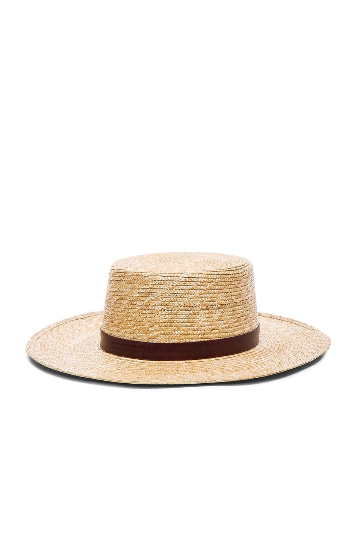 Image 2 of Janessa Leone Mari Bolero Hat in Natural