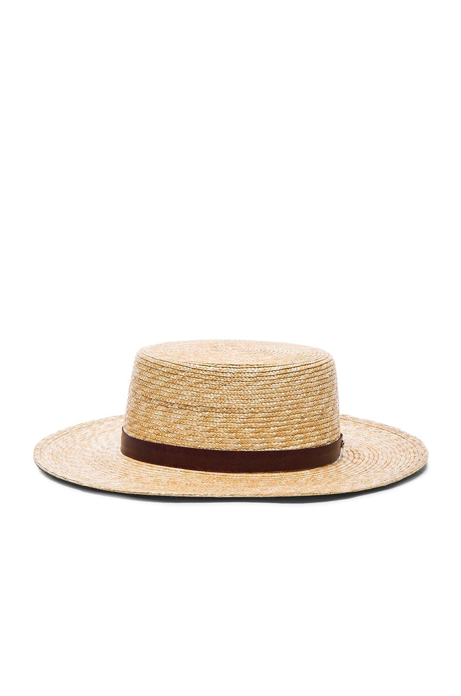 Image 3 of Janessa Leone Mari Bolero Hat in Natural