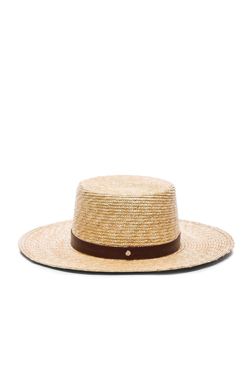 Image 4 of Janessa Leone Mari Bolero Hat in Natural