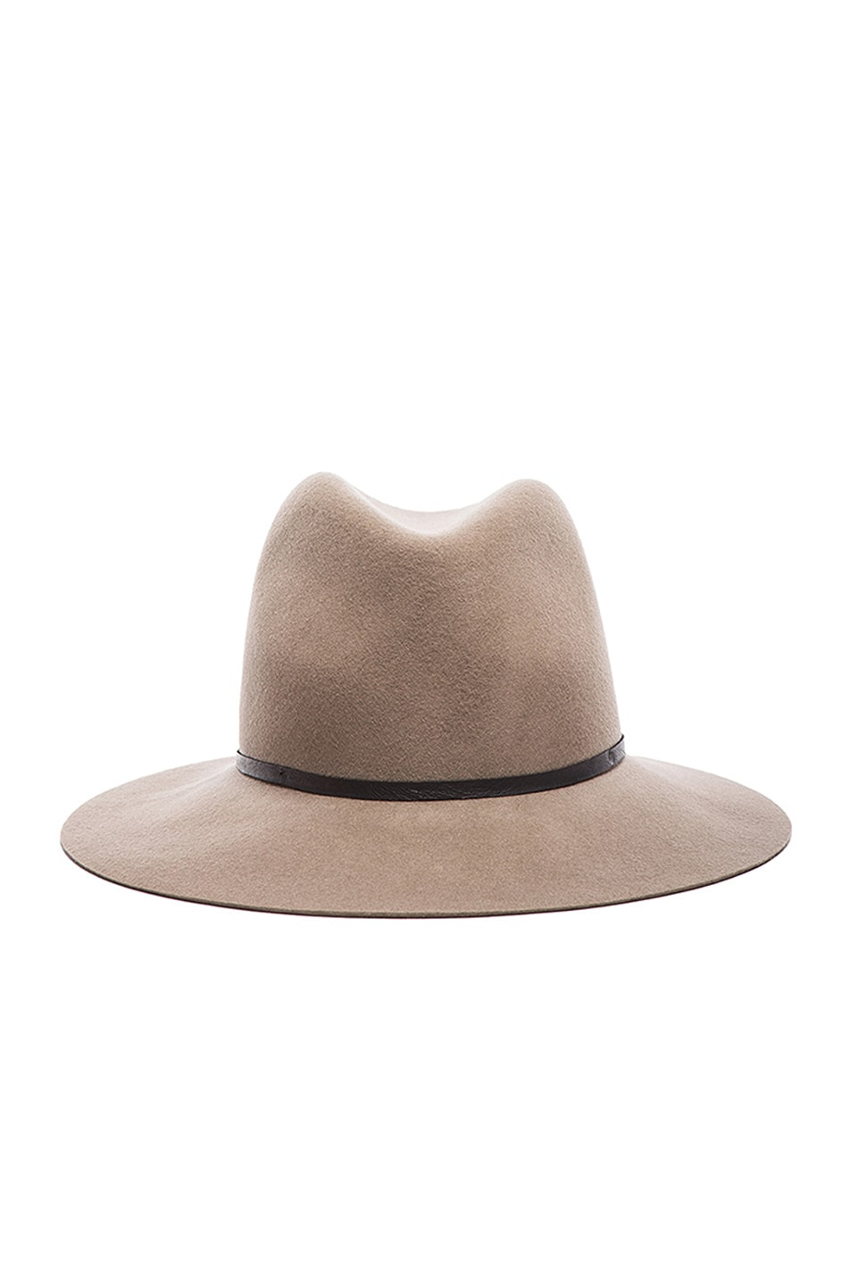 Image 1 of Janessa Leone Lola Wool Felt Hat in Camel