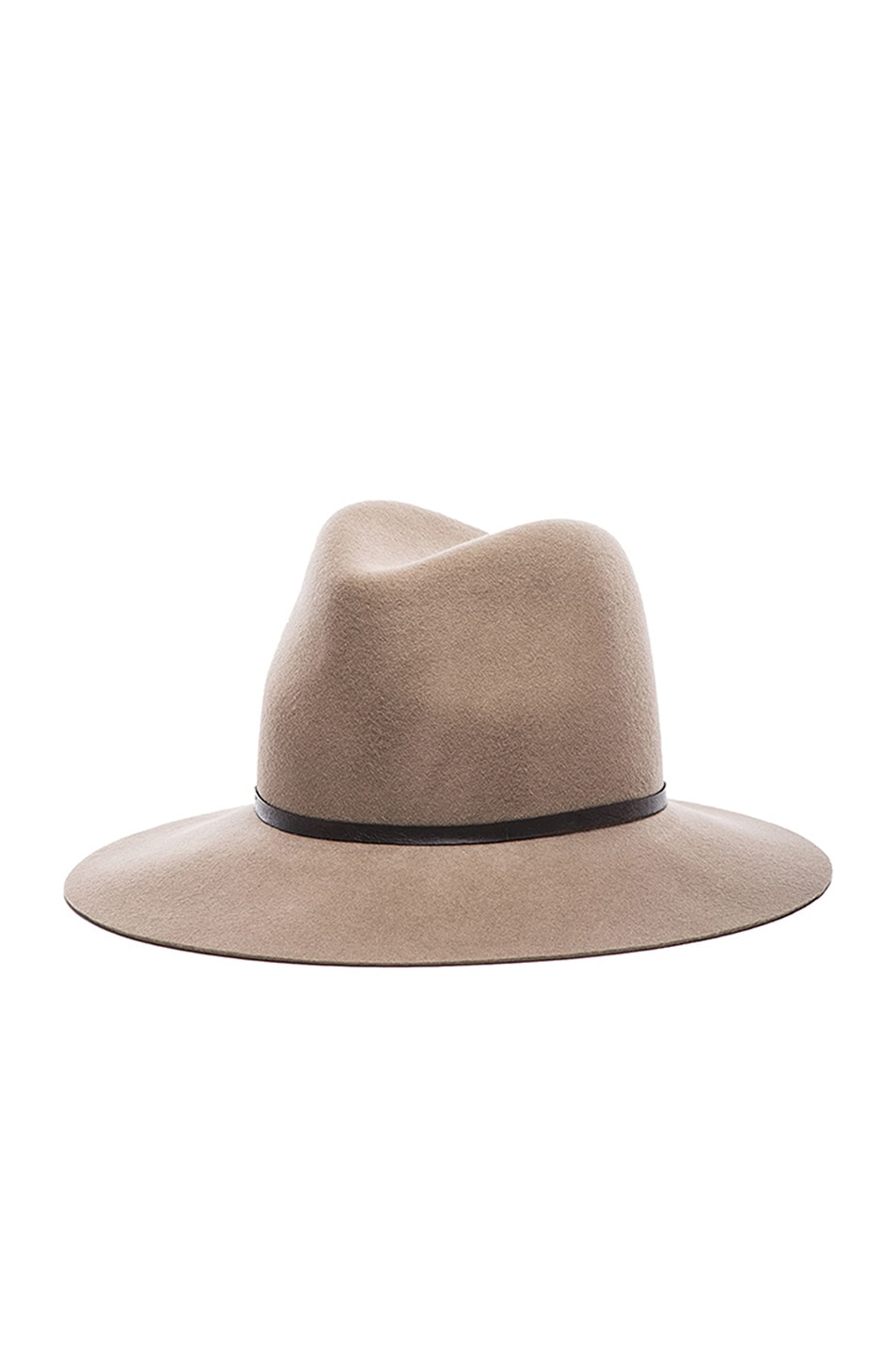 Image 3 of Janessa Leone Lola Wool Felt Hat in Camel