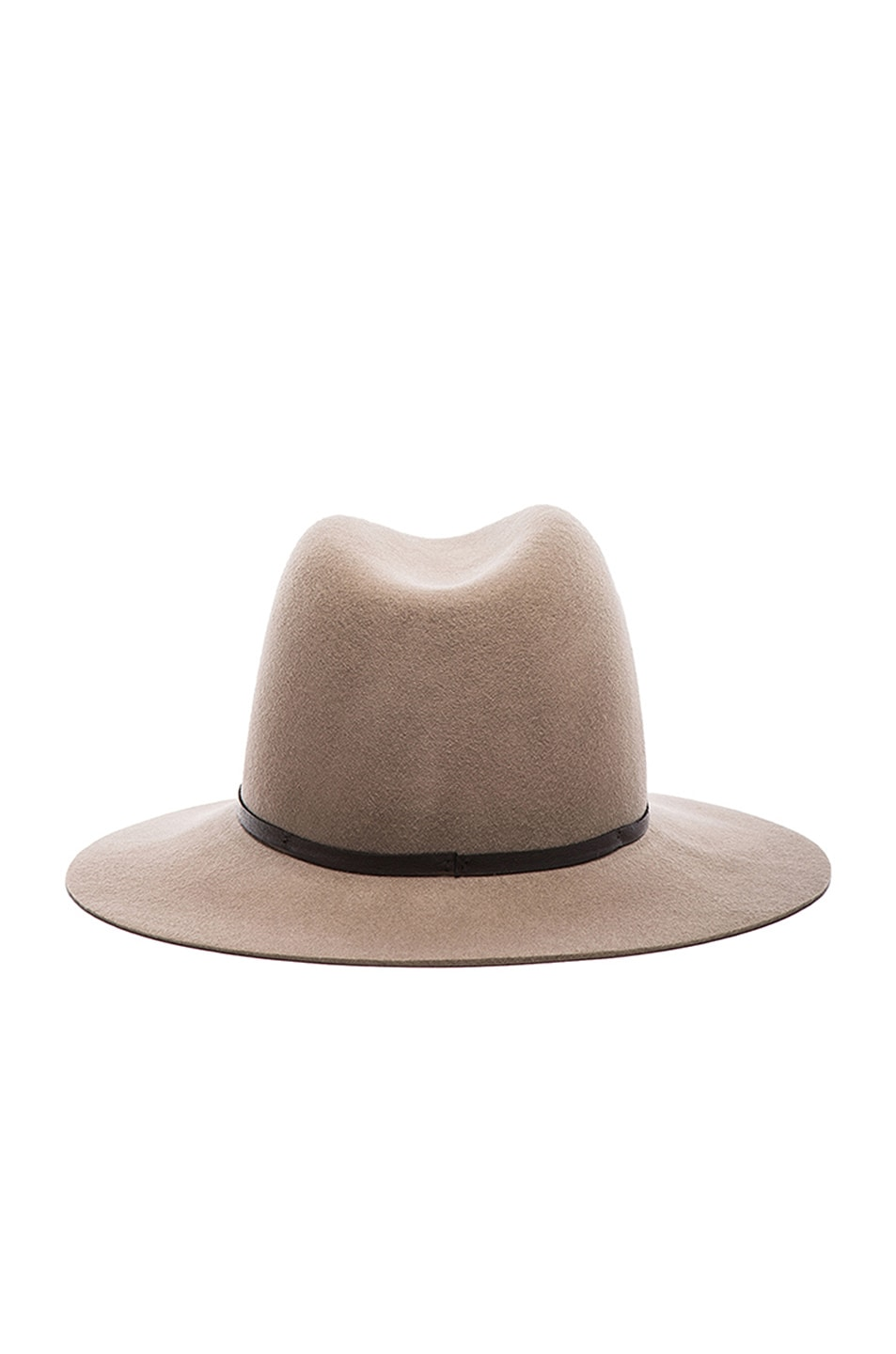 Image 5 of Janessa Leone Lola Wool Felt Hat in Camel