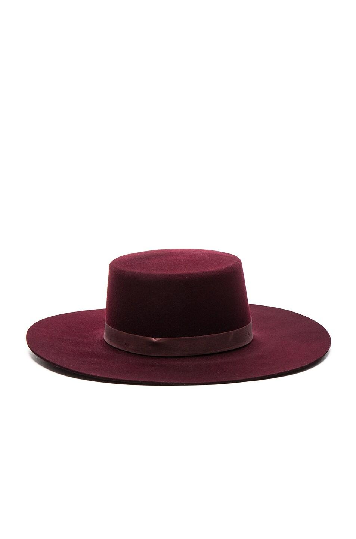 Image 1 of Janessa Leone Laurena Hat in Port