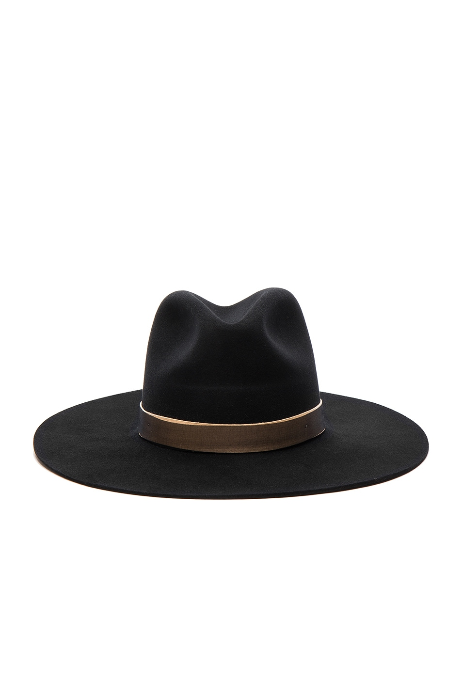 Image 1 of Janessa Leone Georgia Hat in Black