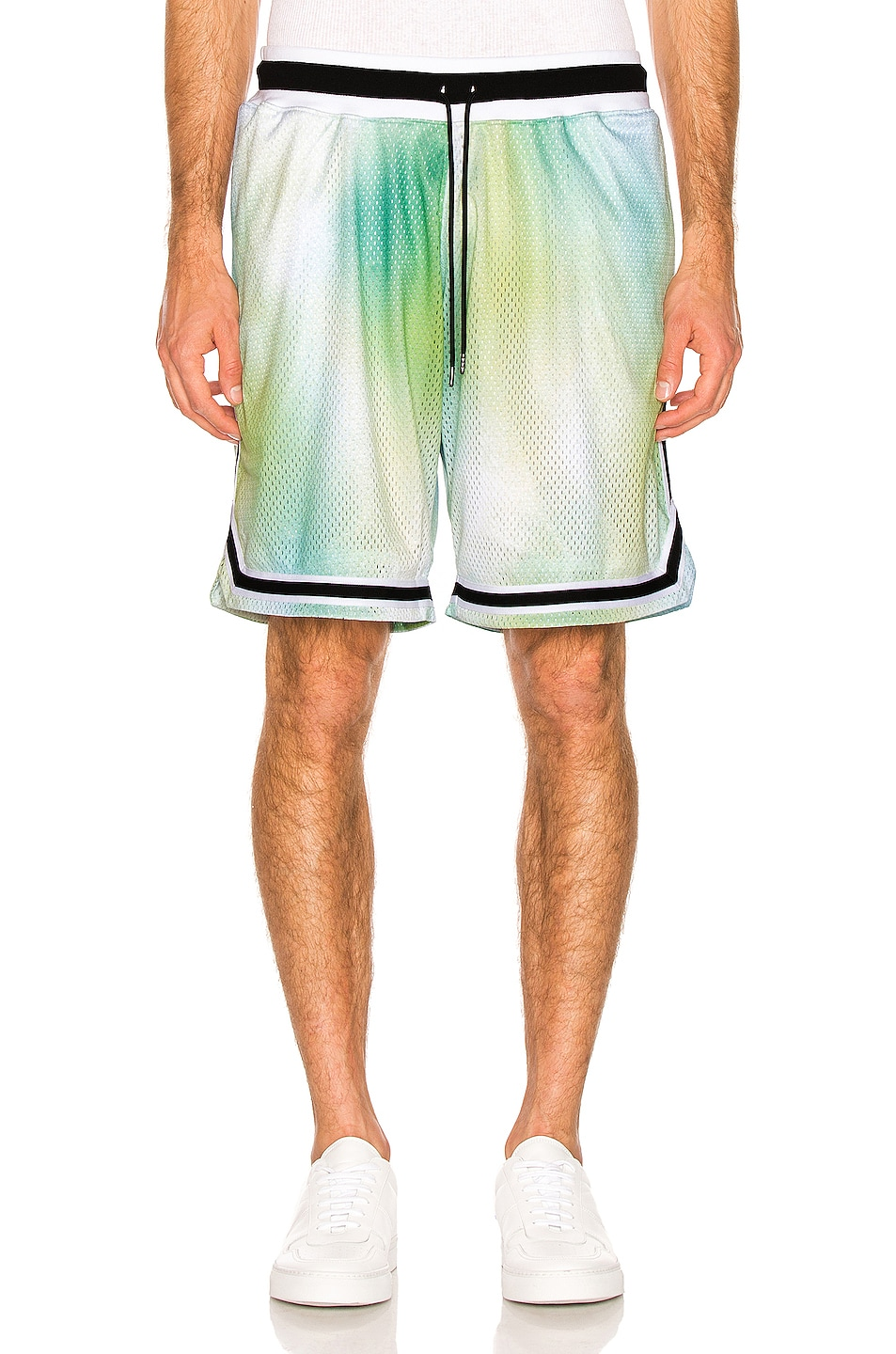 Image 1 of JOHN ELLIOTT Basketball Shorts in Sour Skittles