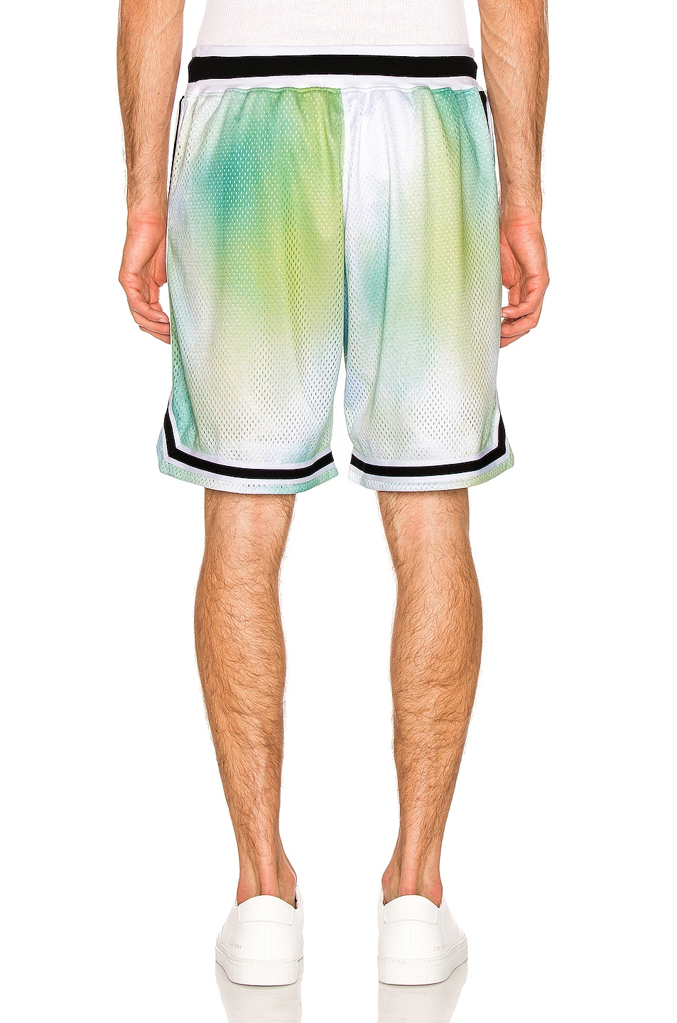 Image 3 of JOHN ELLIOTT Basketball Shorts in Sour Skittles