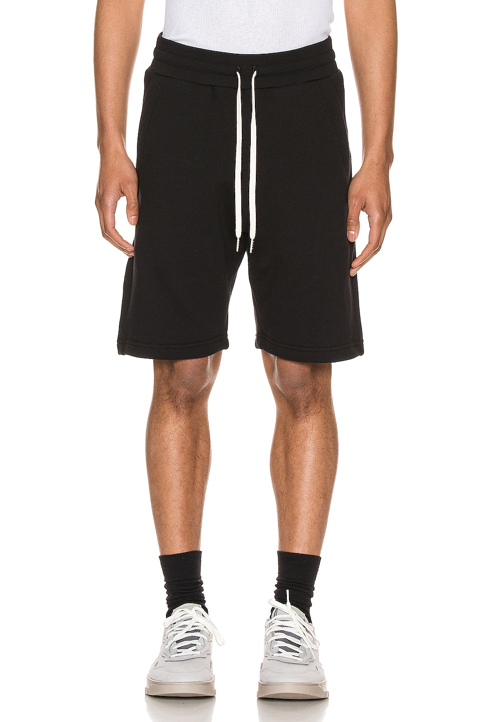 Image 1 of JOHN ELLIOTT Crimson Shorts in Black