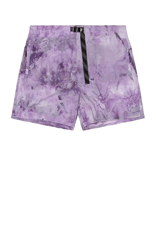 Image 1 of JOHN ELLIOTT Trail Shorts in Orchid