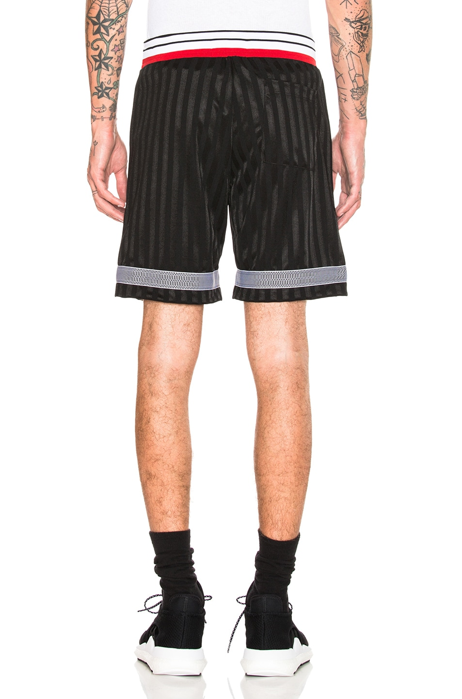 on sale JOHN ELLIOTT Soccer Shorts Black