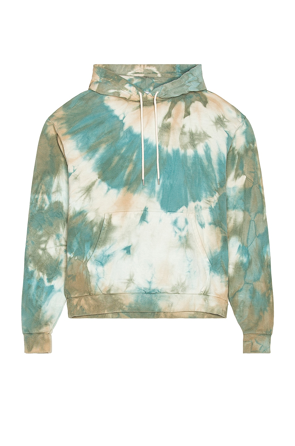 Image 1 of JOHN ELLIOTT Sequoia Hoodie in Sorrel Tie Dye