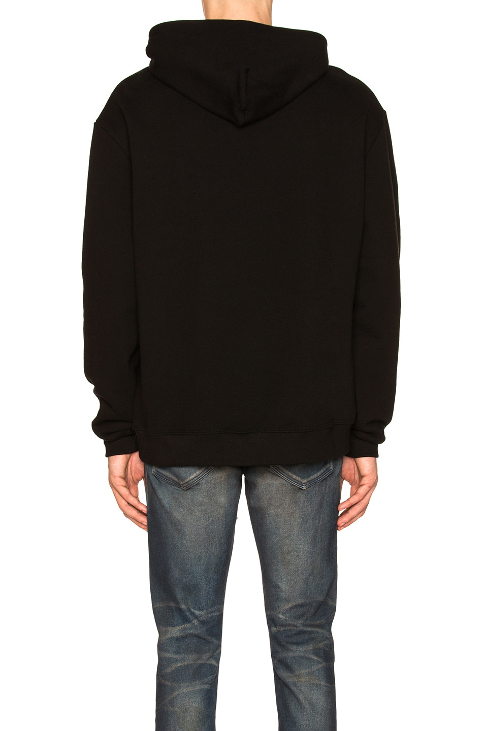 Image 3 of JOHN ELLIOTT Oversized Cropped Hoodie in Black