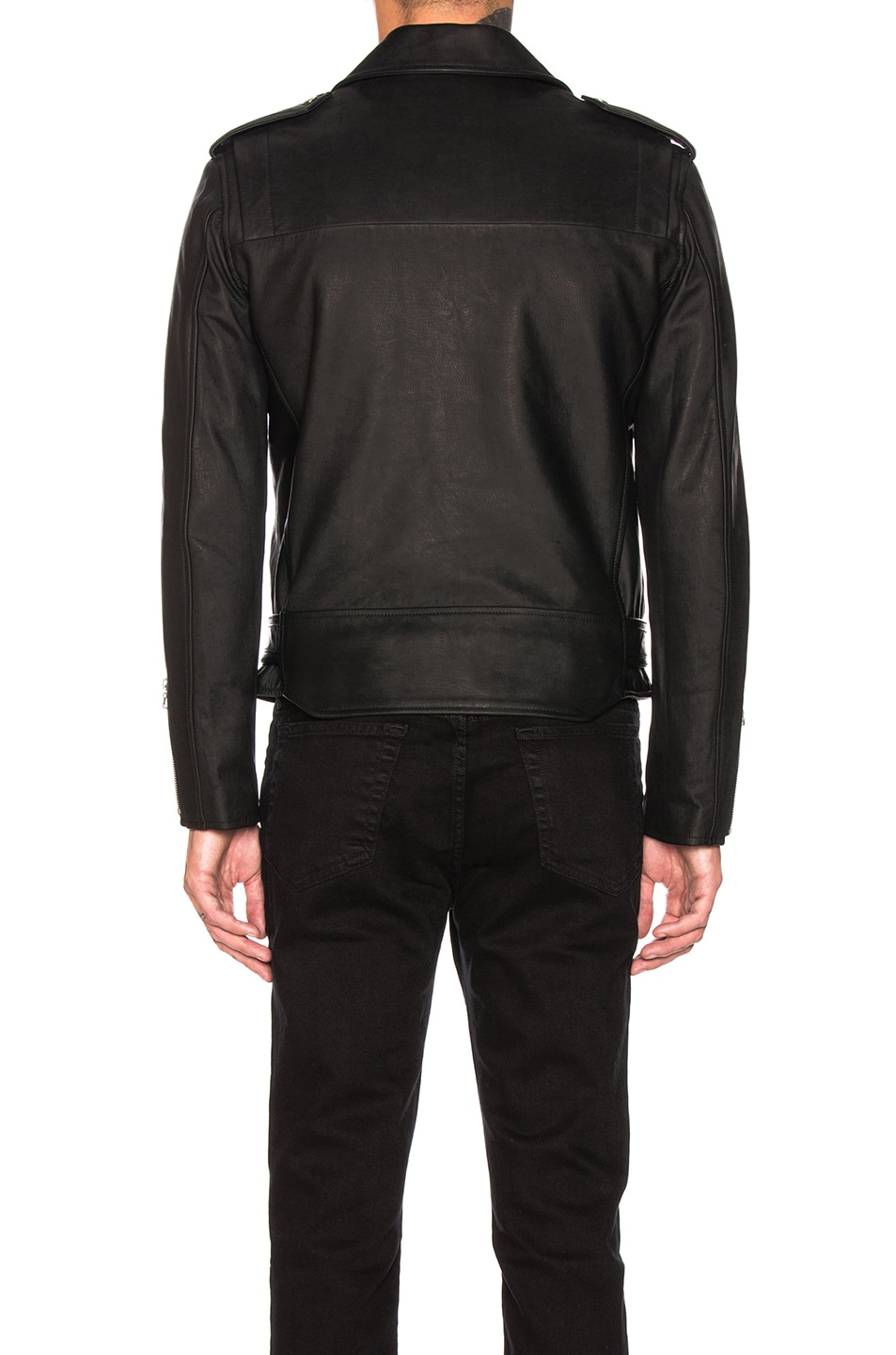 Image 5 of JOHN ELLIOTT Blackmeans Rider's Jacket in Black
