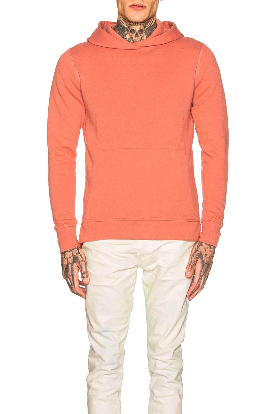 Image 1 of JOHN ELLIOTT Hooded Villian in Dusty Pink
