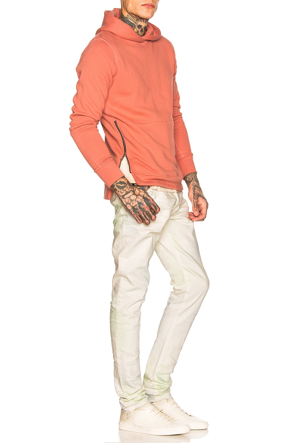 Image 4 of JOHN ELLIOTT Hooded Villian in Dusty Pink
