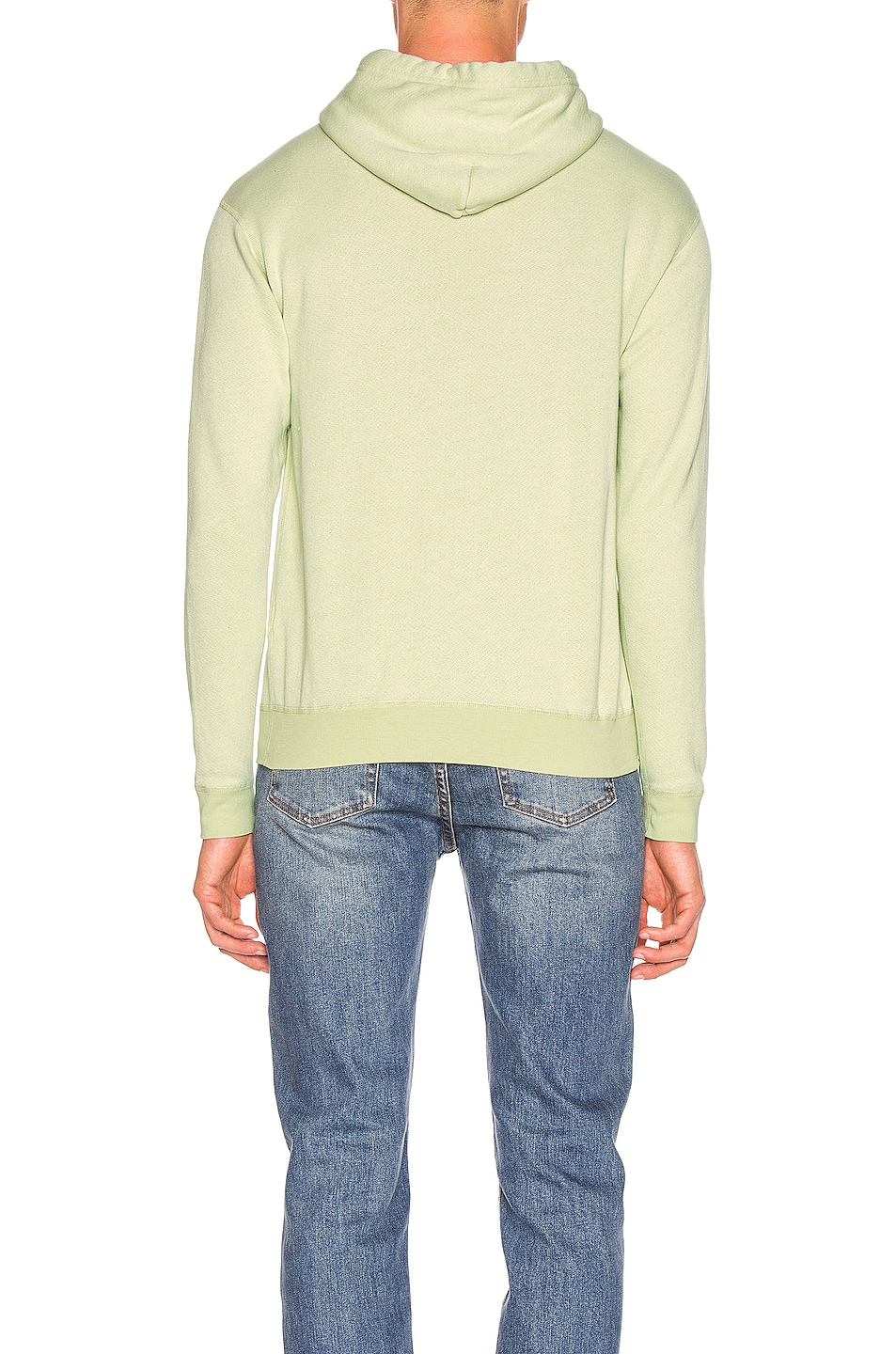 Image 3 of JOHN ELLIOTT Vintage Fleece Hoodie in Mint Green