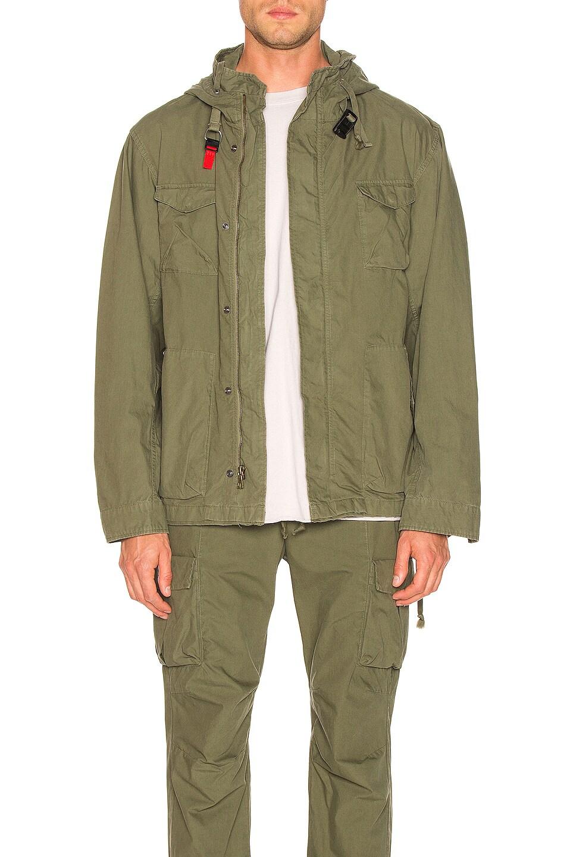 Image 1 of JOHN ELLIOTT Military Zip Field Jacket in Olive