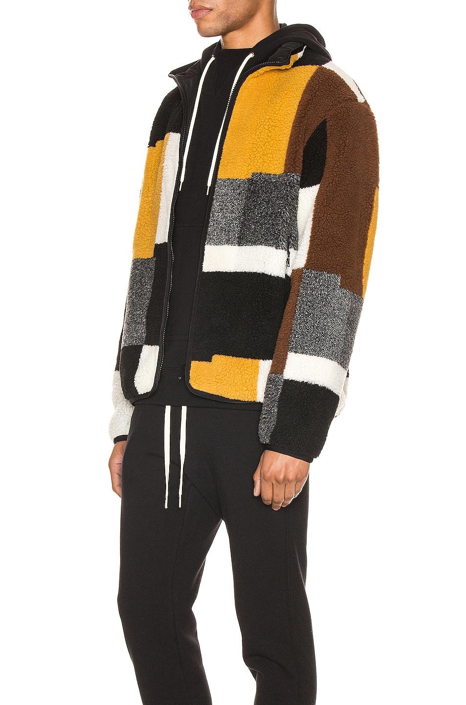 Image 4 of JOHN ELLIOTT Nashville Jacquard Reversible Full Zip Jacket in Multi