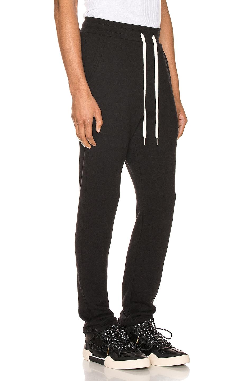 Image 2 of JOHN ELLIOTT Sochi Sweat Pants in Black