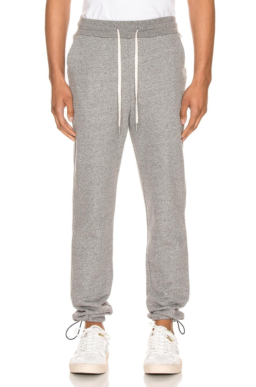 Image 1 of JOHN ELLIOTT Sochi Sweat Pants in Dark Grey