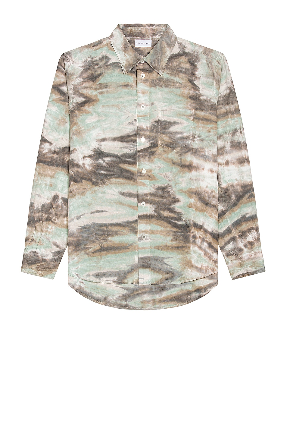 Image 1 of JOHN ELLIOTT Corpus Button Down in Marrin Camo
