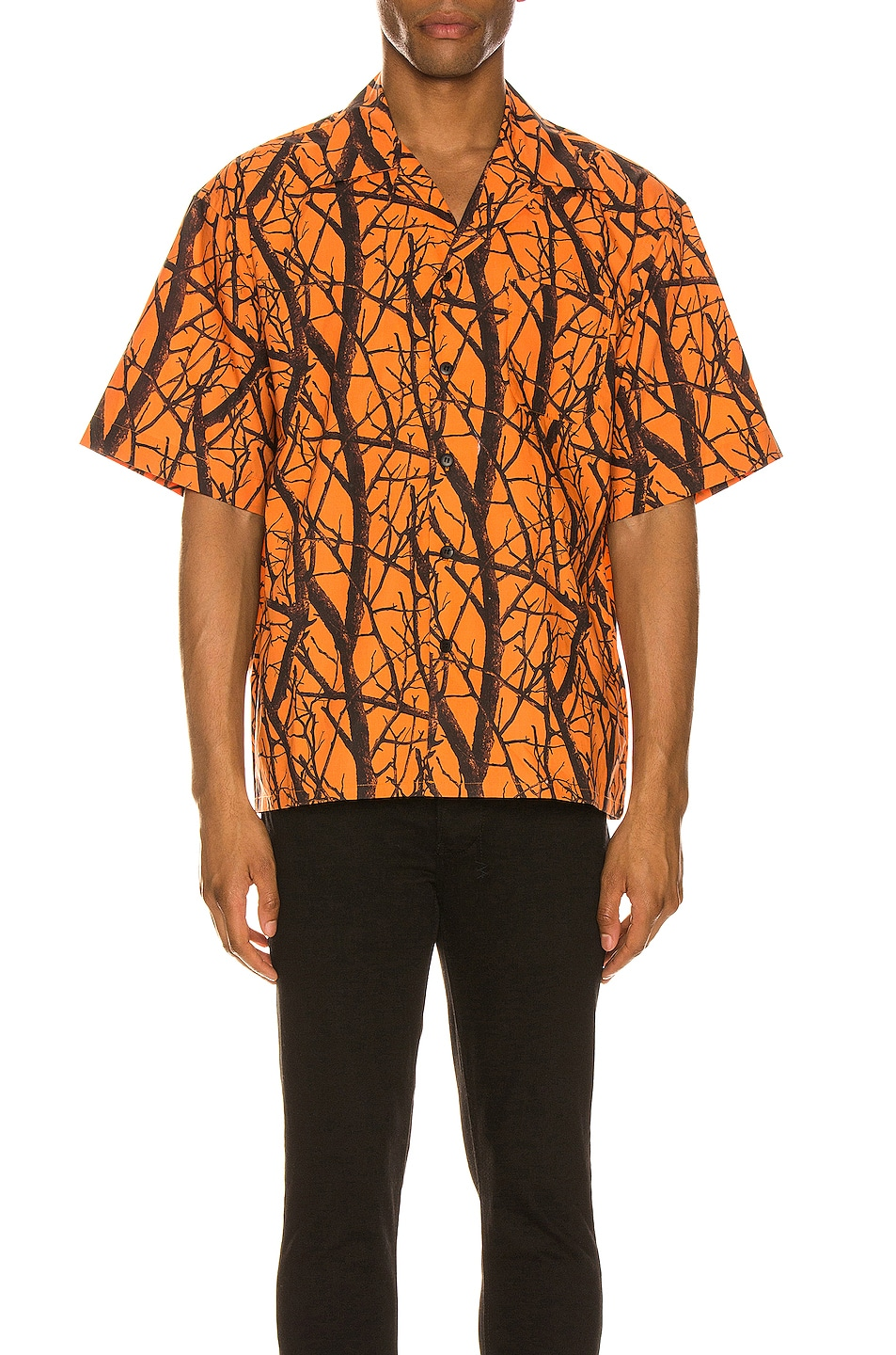 Image 1 of JOHN ELLIOTT Camp Shirt in Duck Club Orange