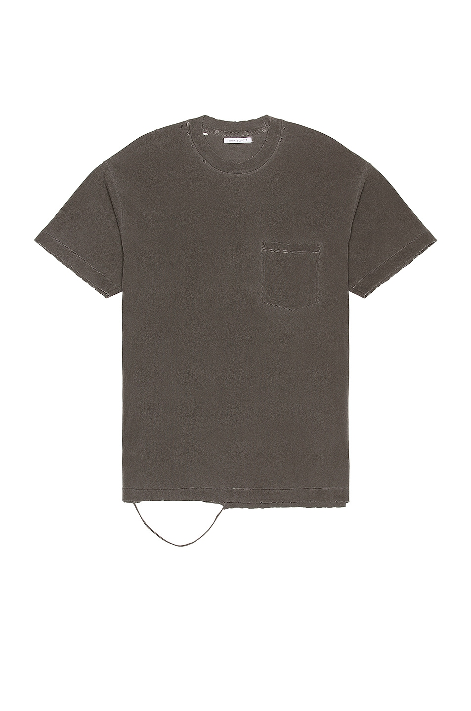 Image 1 of JOHN ELLIOTT Folsom Pocket Tee in Vintage Black