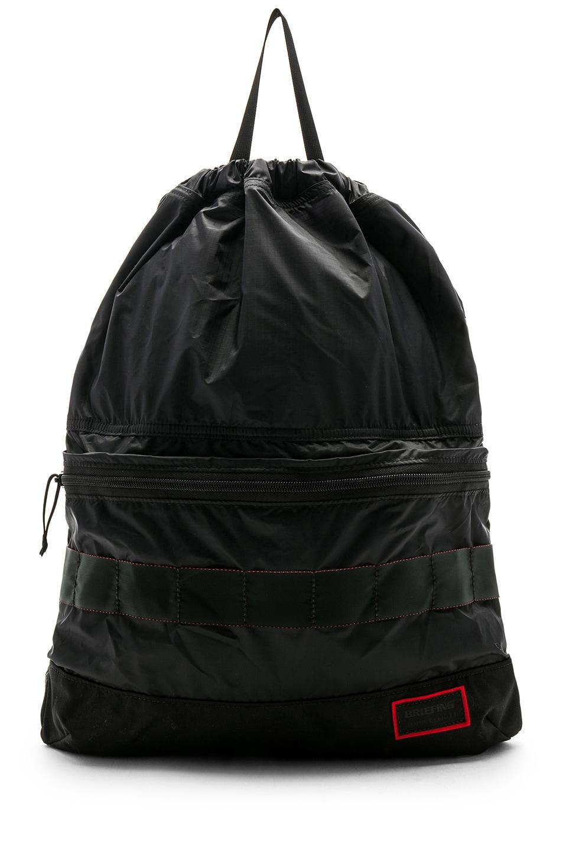 Image 1 of JOHN ELLIOTT x Briefing 2 in 1 Backpack in Black