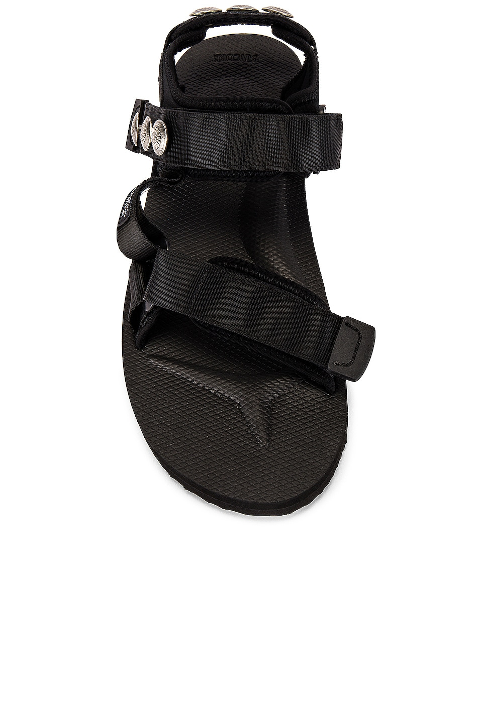 Image 4 of JOHN ELLIOTT x Blackmeans x Suicoke Lotus Sandal in Black