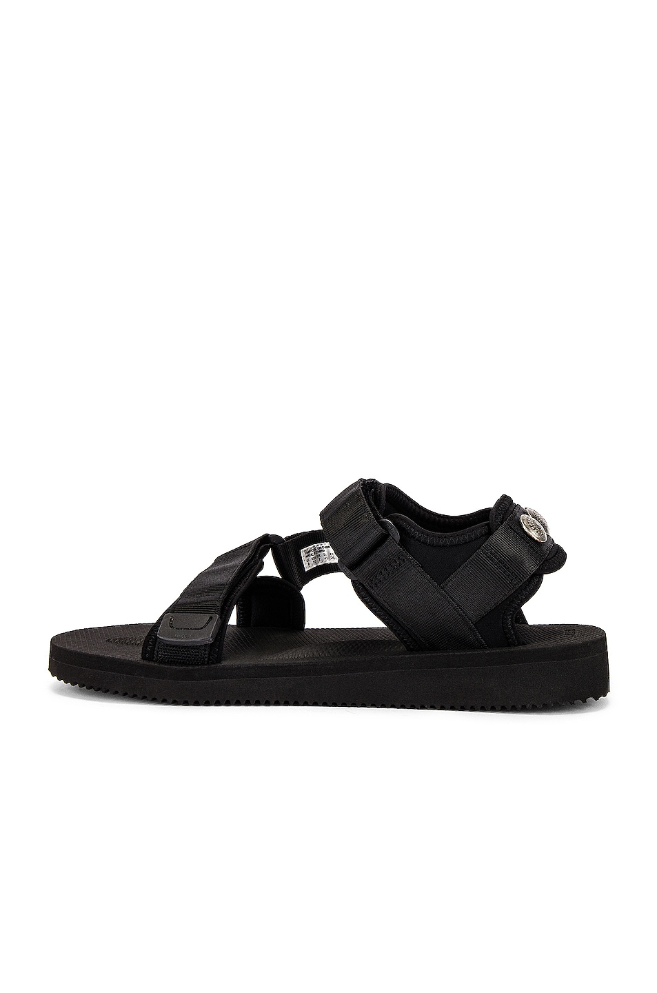 Image 5 of JOHN ELLIOTT x Blackmeans x Suicoke Lotus Sandal in Black