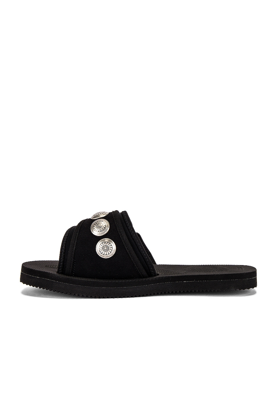Image 5 of JOHN ELLIOTT x Blackmeans x Suicoke Lotus Slide in Black