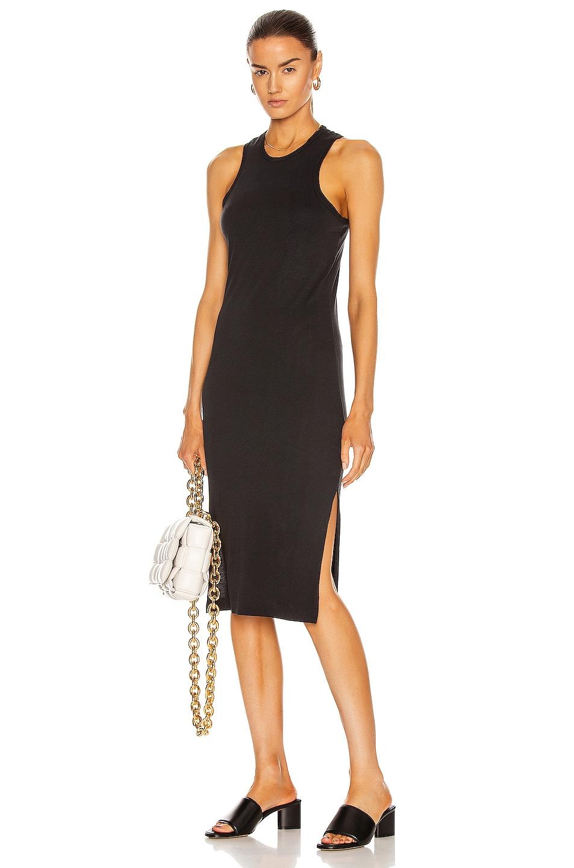 Image 1 of JOHN ELLIOTT Layla Racerback Dress in Black