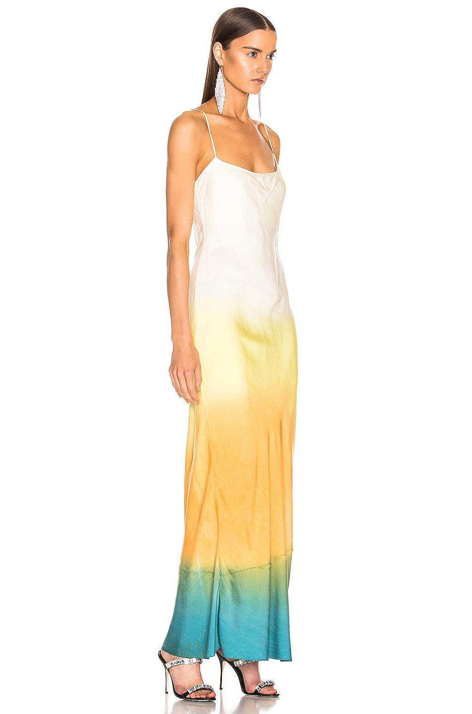Image 2 of JOHN ELLIOTT for FWRD Myrrh Slip Dress in Gradient