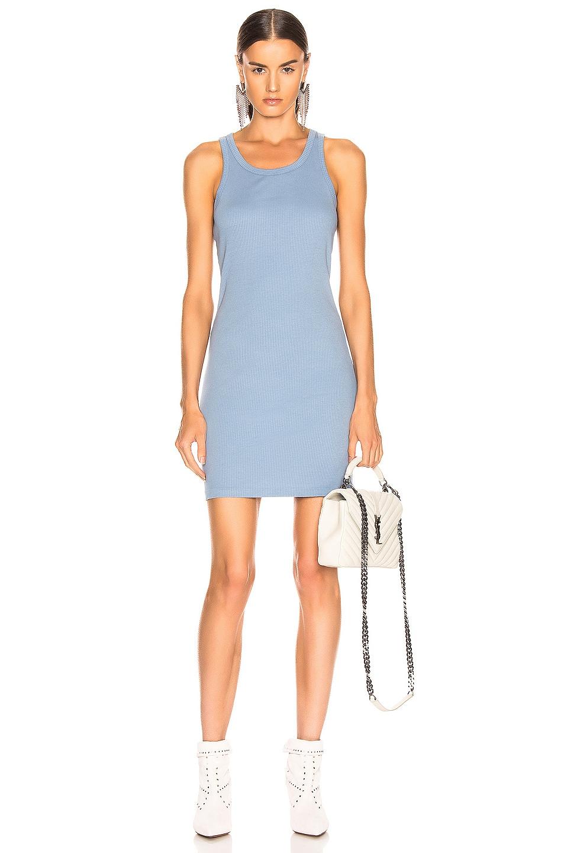 Image 1 of JOHN ELLIOTT Alma Rib Dress in Dusty Blue