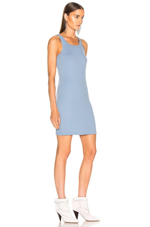 Image 2 of JOHN ELLIOTT Alma Rib Dress in Dusty Blue