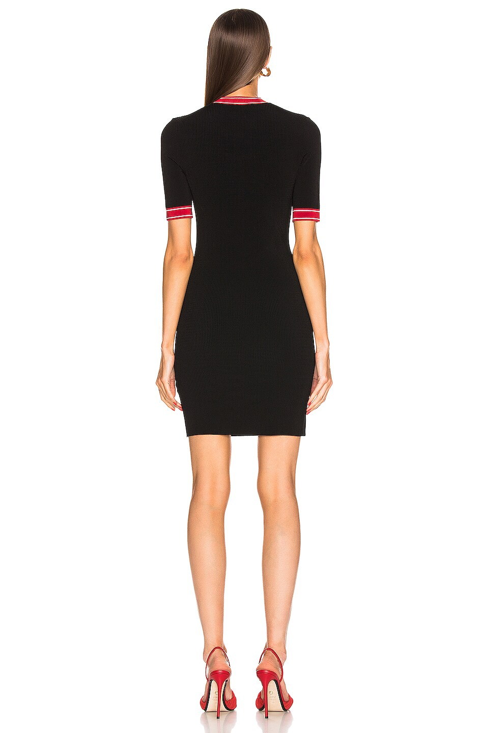 Image 4 of JOHN ELLIOTT Loren Dress in Black